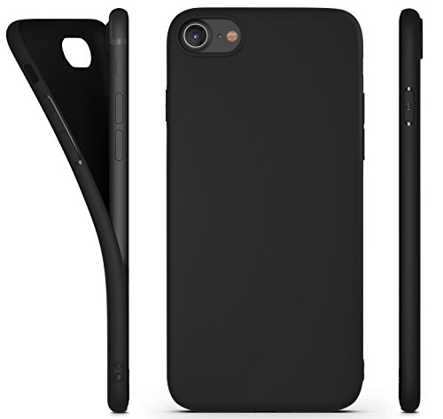 coque iphone xr noir silicone