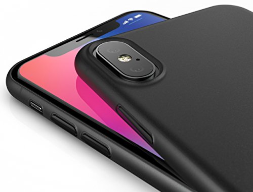 coque silicone noir iphone xs