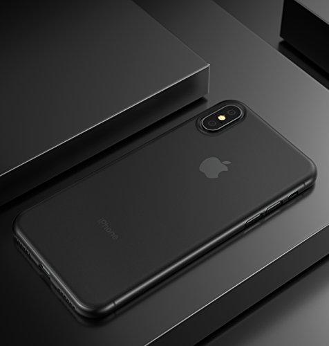 coque iphone x ultra fine noire