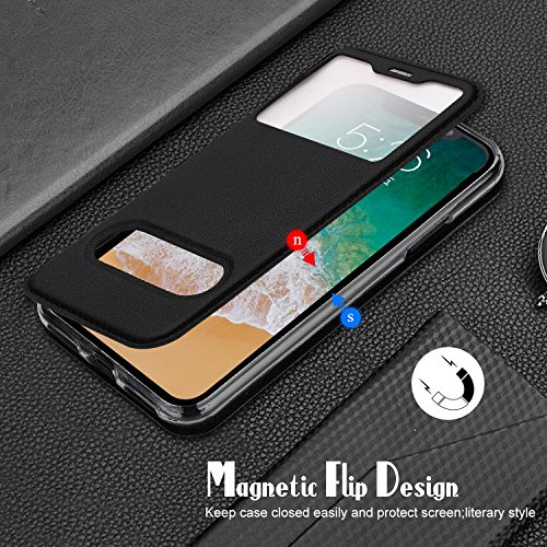 coque iphone x avec fenetre