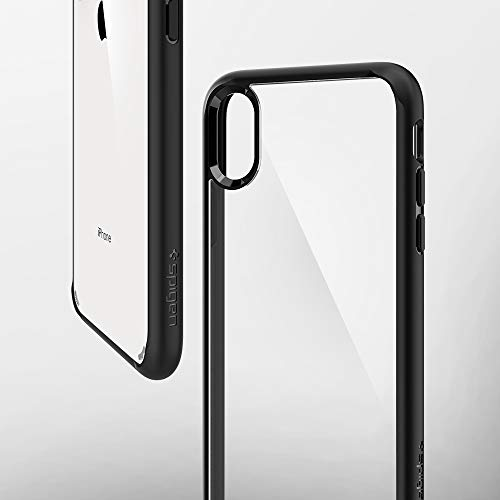 coque iphone xs max spigen transparente